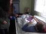 Odwiedziny wolontariuszy ŚDM u chorych